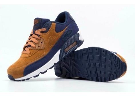 Tênis Nike Air Max 90 Masculino E Feminino Queima Queima Feminino De  Estoque R d0f33d d0d7b0e4dbaaf