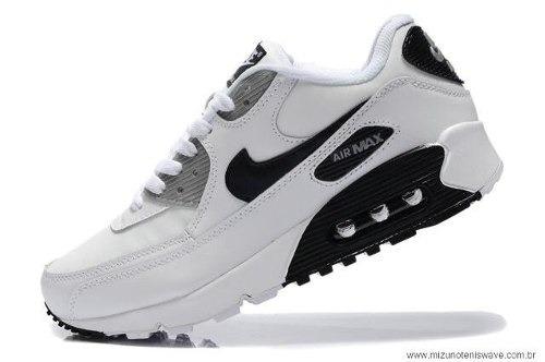 Tênis Nike Air Max 90 Masculino Feminino Ta Barato De+ !! - R  58 09dbdf2d13b74