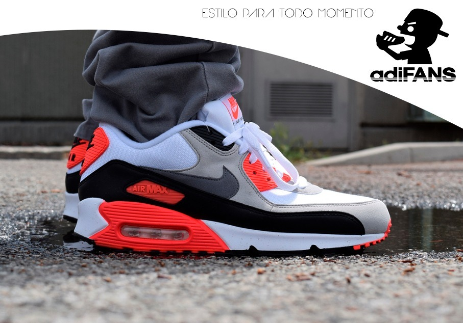 af79c4fff07 ... where can i buy tênis nike air max 90 preto branco e vermelho. carregando  zoom