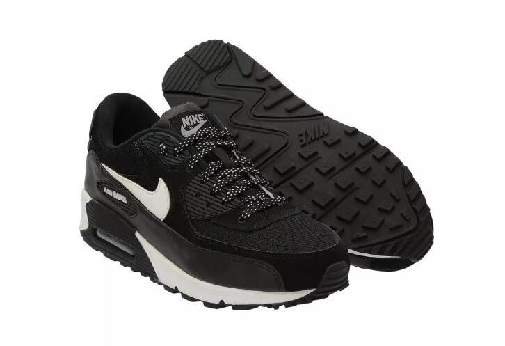 air max 90 preto com branco