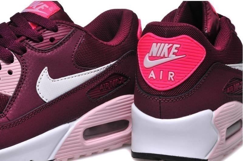 0004791c892 tênis nike air max 90 vinho feminino original - netshoes. Carregando zoom.