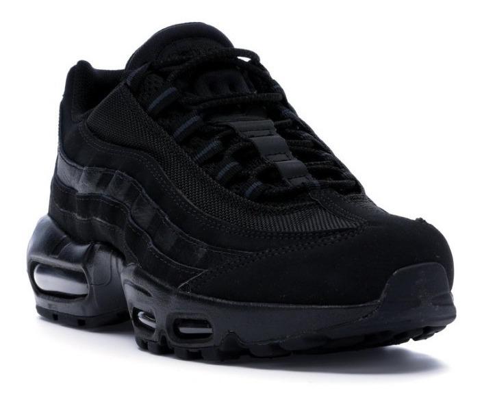 separation shoes 2f98f 52b4b Tênis Nike Air Max '95 Triple Black - Sob Encomenda