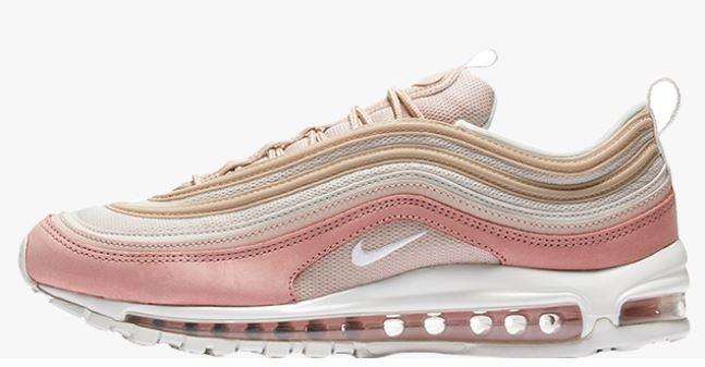super popular f670a 376e4 Tênis Nike Air Max 97 Premium Pink Feminino Original Oferta - R$ 620 ...