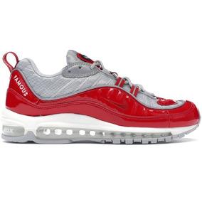 c1942d6d1d0 Tênis Nike Air Max  98 Supreme Varsity Red - Sob Encomenda