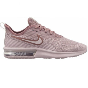 outlet store 3bd38 ace08 Tênis Nike Air Max Feminino Sequent 4 Rose Original - 2018
