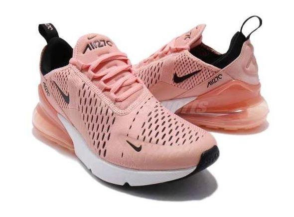 Tênis Nike Air Max Gel Bolha 270 Original Feminino Rosa Novo