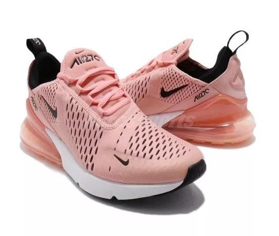 42963deaba Tênis Nike Air Max Gel Bolha 270 Rosa Original Feminino Rose - R ...