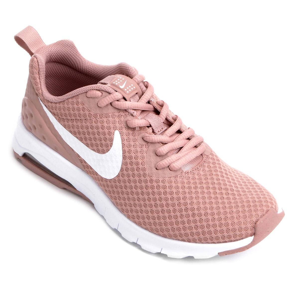 cab4d4f87a ... netherlands tênis nike air max motion lw feminino rosa branco.  carregando zoom. a717b 1dfd5