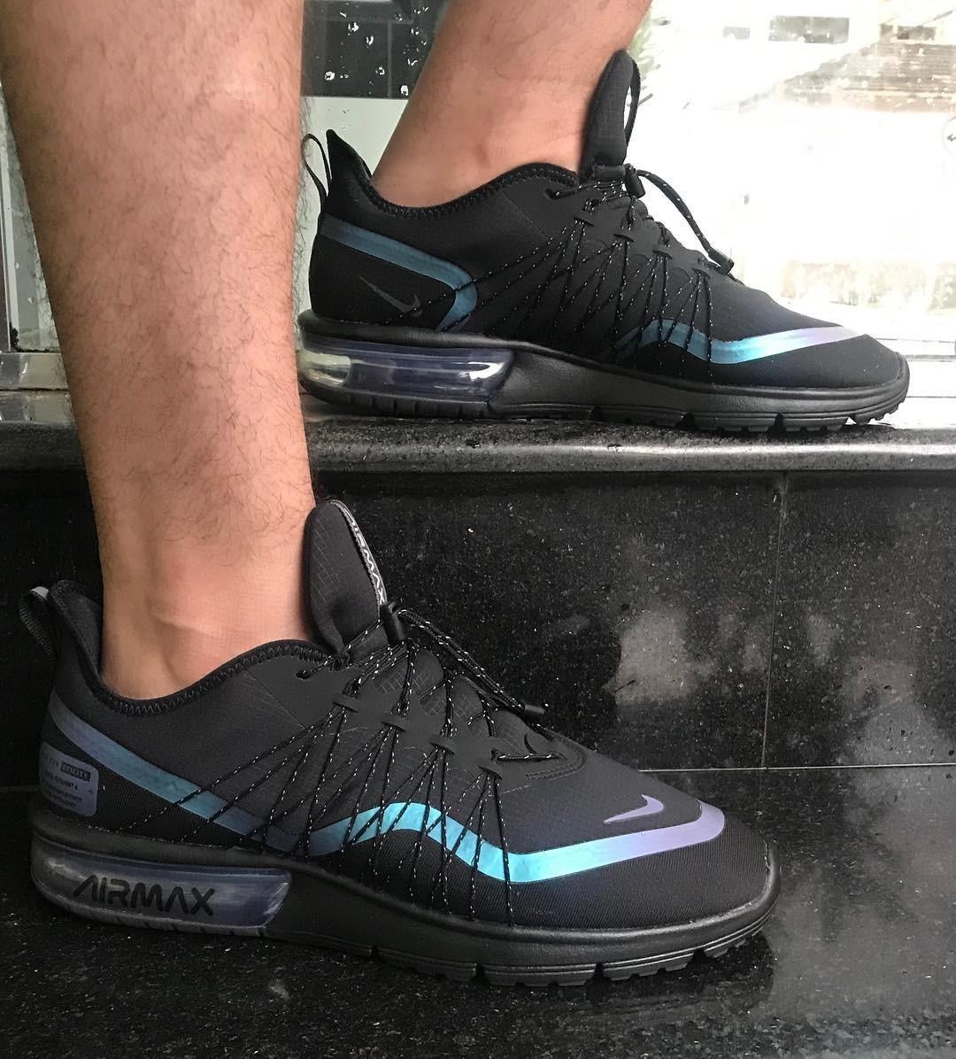 Menor preço em Tênis Nike Air Max Sequent 4 Utility Masculino VERDE ESCURO