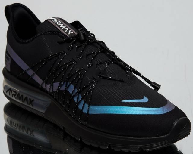 c1bdf0ab474 Tênis Nike Air Max Preto Sequent 4 Utility. Original! - R  599