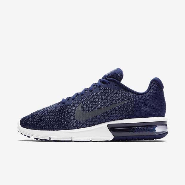 online store a5bf1 6117b tênis nike air max sequent 2 azul