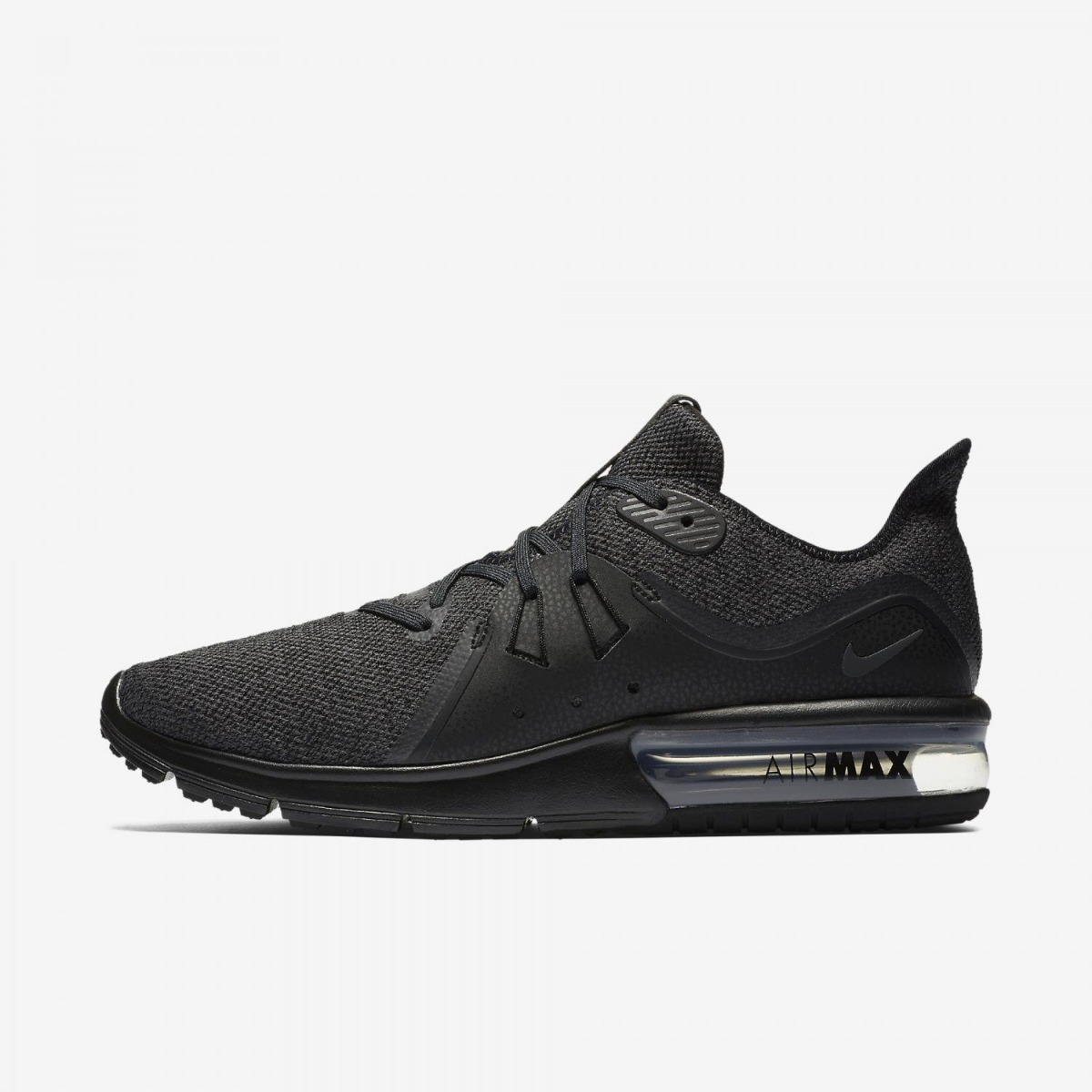 84cd203f8 tênis nike air max sequent 3 black de corrida masculino orig. Carregando  zoom.