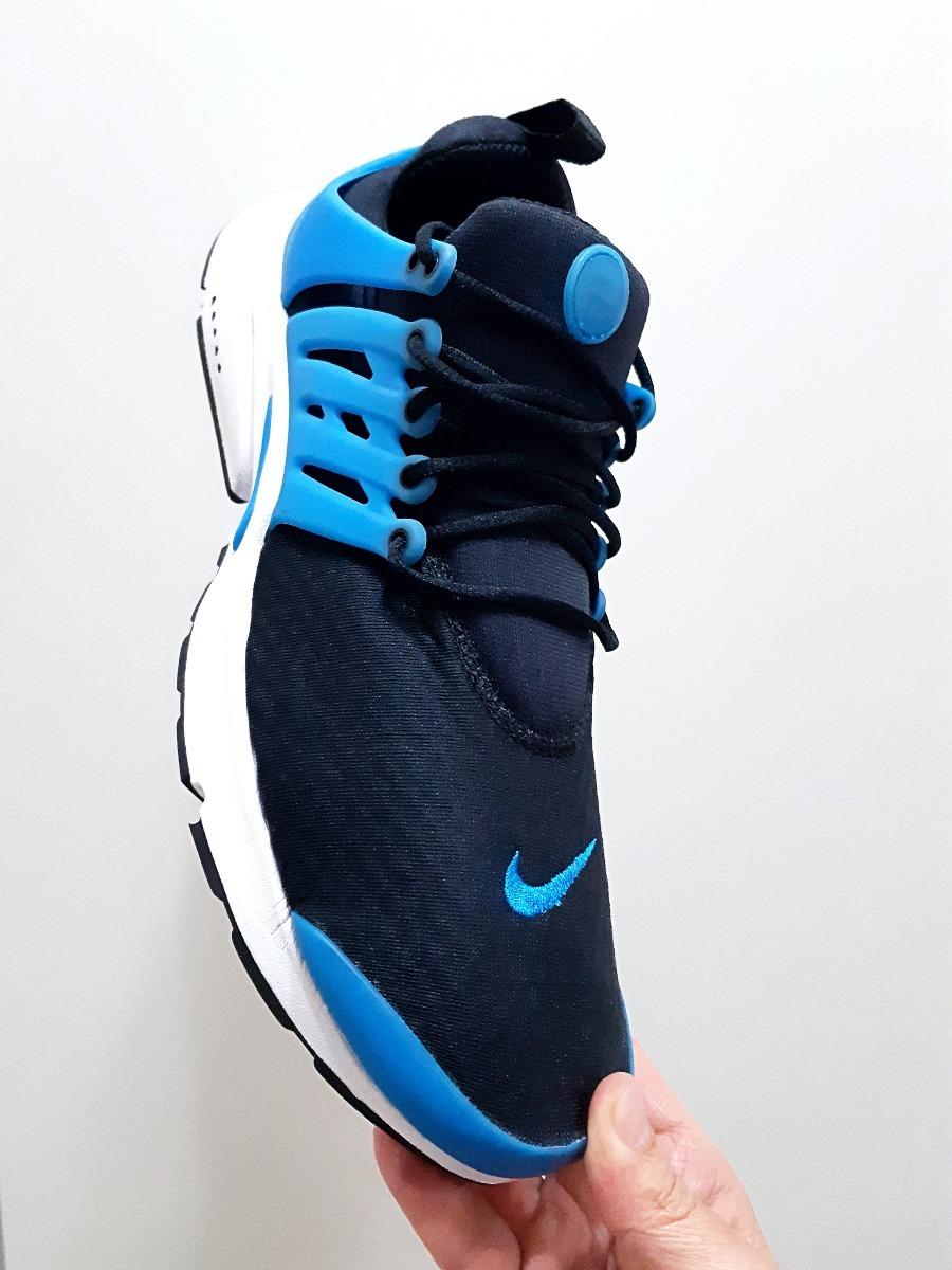 f1de52b698774 tênis nike air presto essential original preto azul n. 44. Carregando zoom.