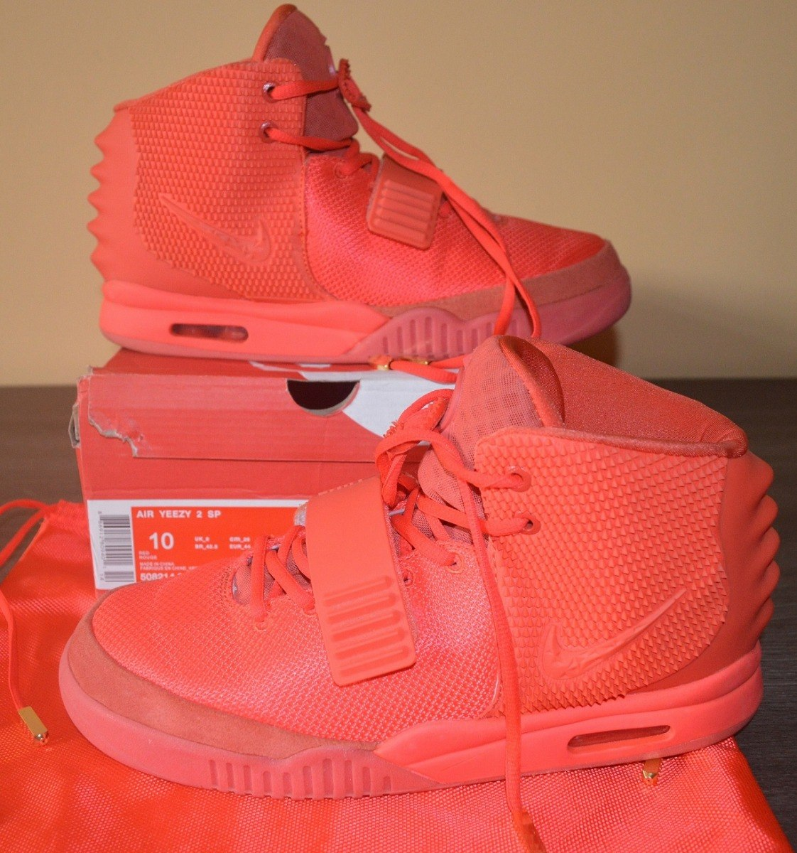 tênis nike air yeezy 2 red october kanye west. Carregando zoom. 8f9ad05ecb8c