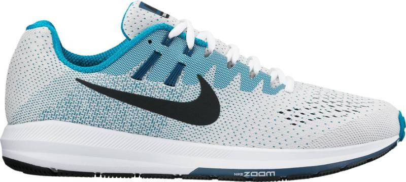 a77443bed tênis nike air zoom structure 20 849576-101. Carregando zoom.
