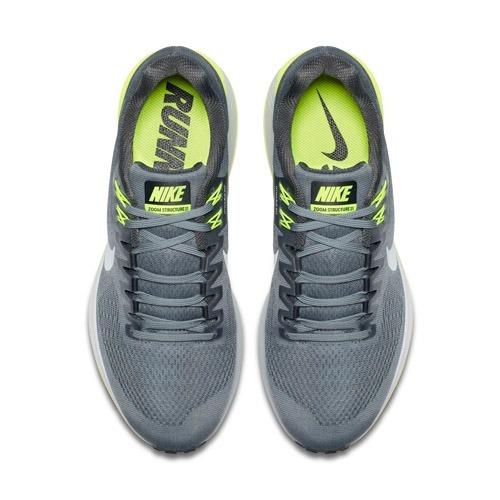 cc74079d429 Tênis Nike Air Zoom Structure 21 Cinza Pronado - R  450