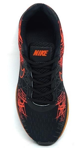 Tênis Nike Air Zoom Vomero 13 Preto E Laranja