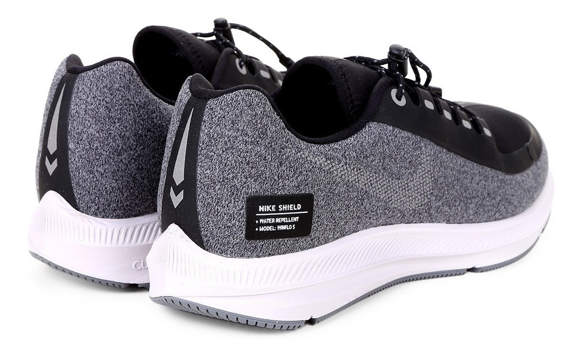 size 40 ea4ec 62dd7 Tênis Nike Air Zoom Winflo 5 Run Shield Feminino Novo S/ Uso