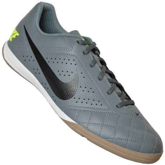 14770cd539 Tênis Nike Beco 2 Cinza Futsal Casual Quadra Barato Original - R ...