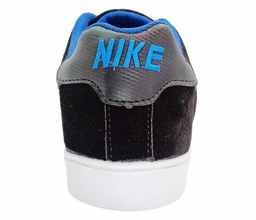 tênis nike blazer preto e azul