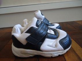 e3cf3968ccc Tênis Nike Branco Infantil Original Nº14 Importado. R  50