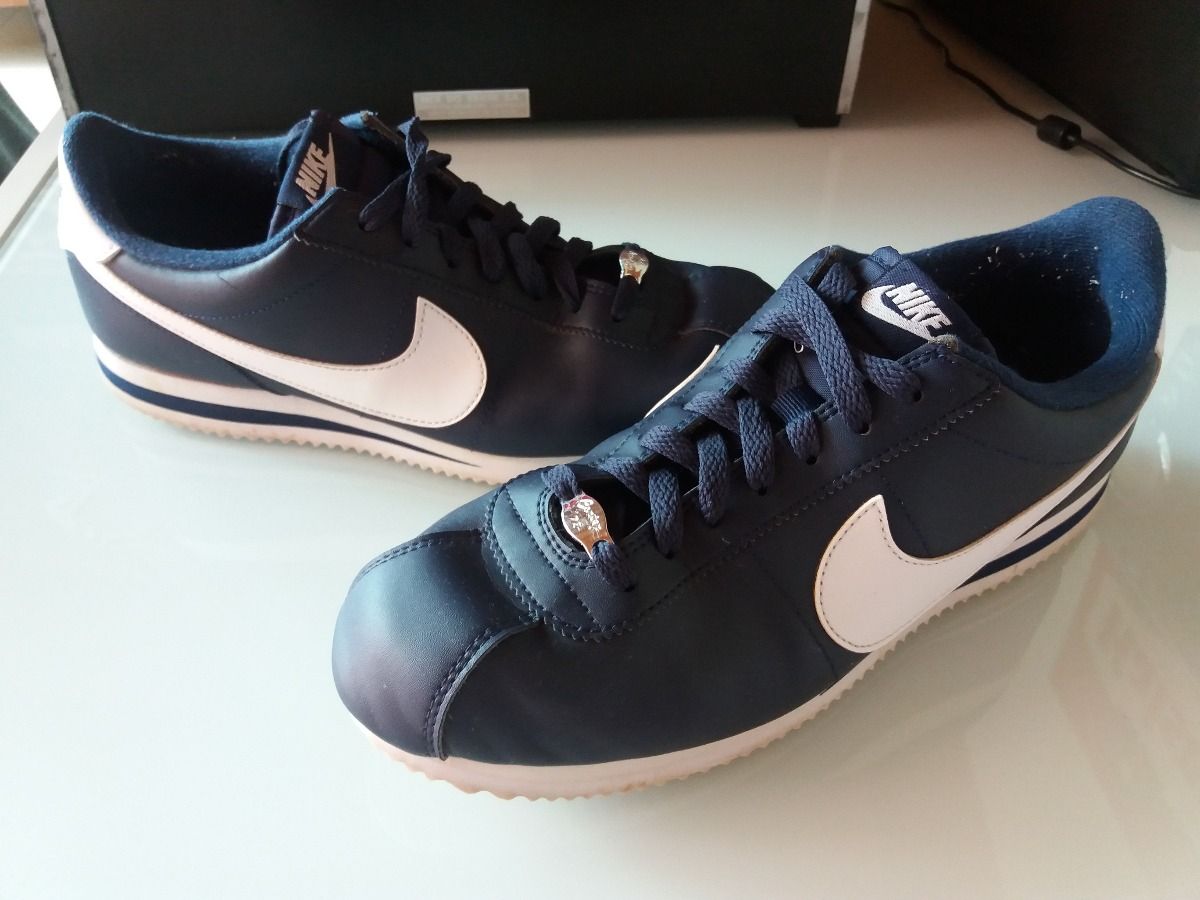 37f3ad59ac6 ... official tênis nike cortez basic leather classic lifestyle chicano 40. carregando  zoom. cc0a2 475ba