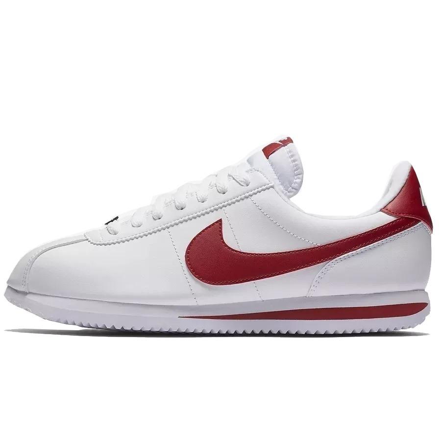 online store 5edaa 6c326 ... good tênis nike cortez classic leather chicano lowrider red white.  carregando zoom. 1624f a54b1