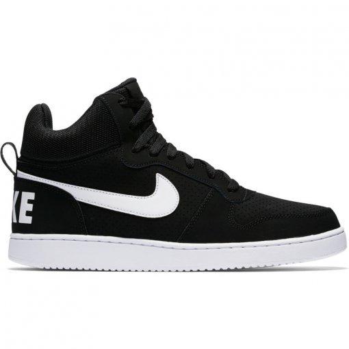 3875507e57 Tênis Nike Court Borough Mid Barato Cano Alto Preto Original - R ...