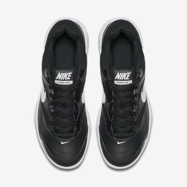 Tênis Nike Court Lite Masculino - Preto branco - R  279 bcbc7906b8a9a