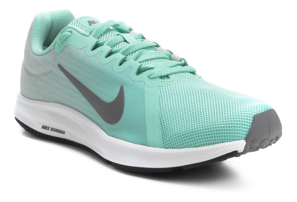 Tênis Nike Downshifter 8 Verde Feminino Academia Original