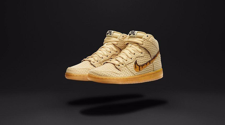1e2f80108ac5 tênis nike dunk high premium sb chicken   waffles - sneaker. Carregando  zoom.