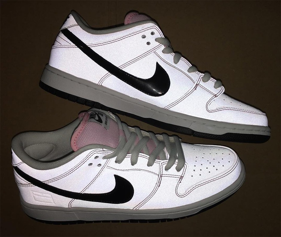 save off 85f76 59cb8 Tênis Nike Dunk Low Elite Sb Pink Box Limited Edition