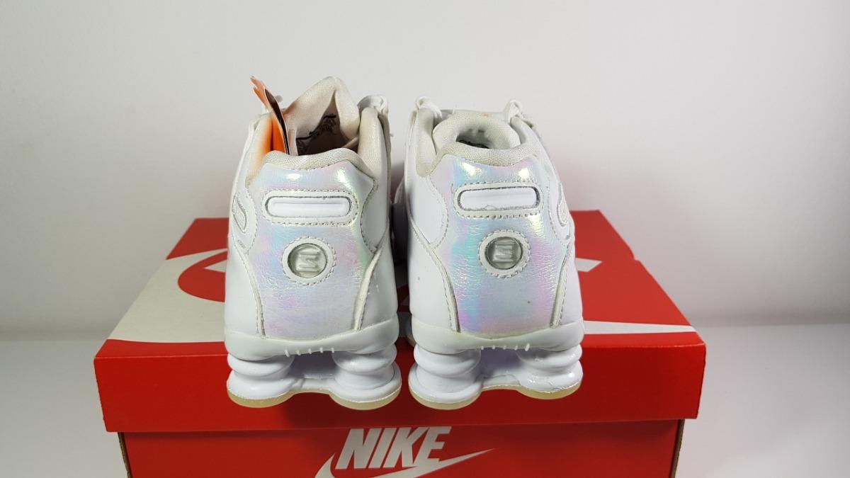 c4c887156db tênis nike shox nz feminino branco 636088-115 original. Carregando zoom... tênis  nike feminino. Carregando zoom.