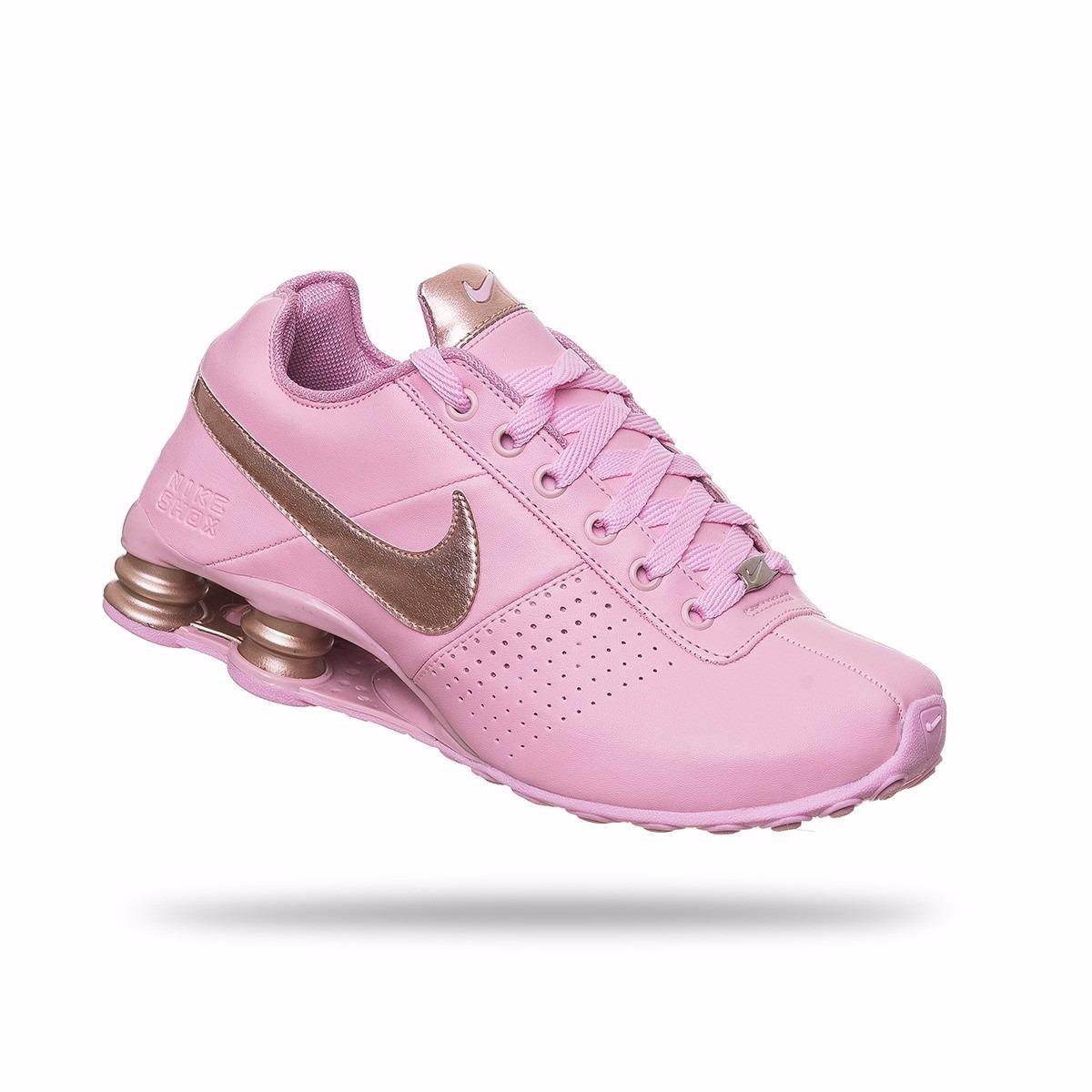f60554c641e Tênis Nike Shox Classic Deliver Feminino Lindo Frete Grátis - R  204 ...