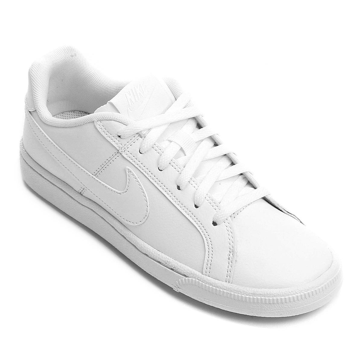 6bd2c6e2284 tênis nike feminino court royale - branco. Carregando zoom.