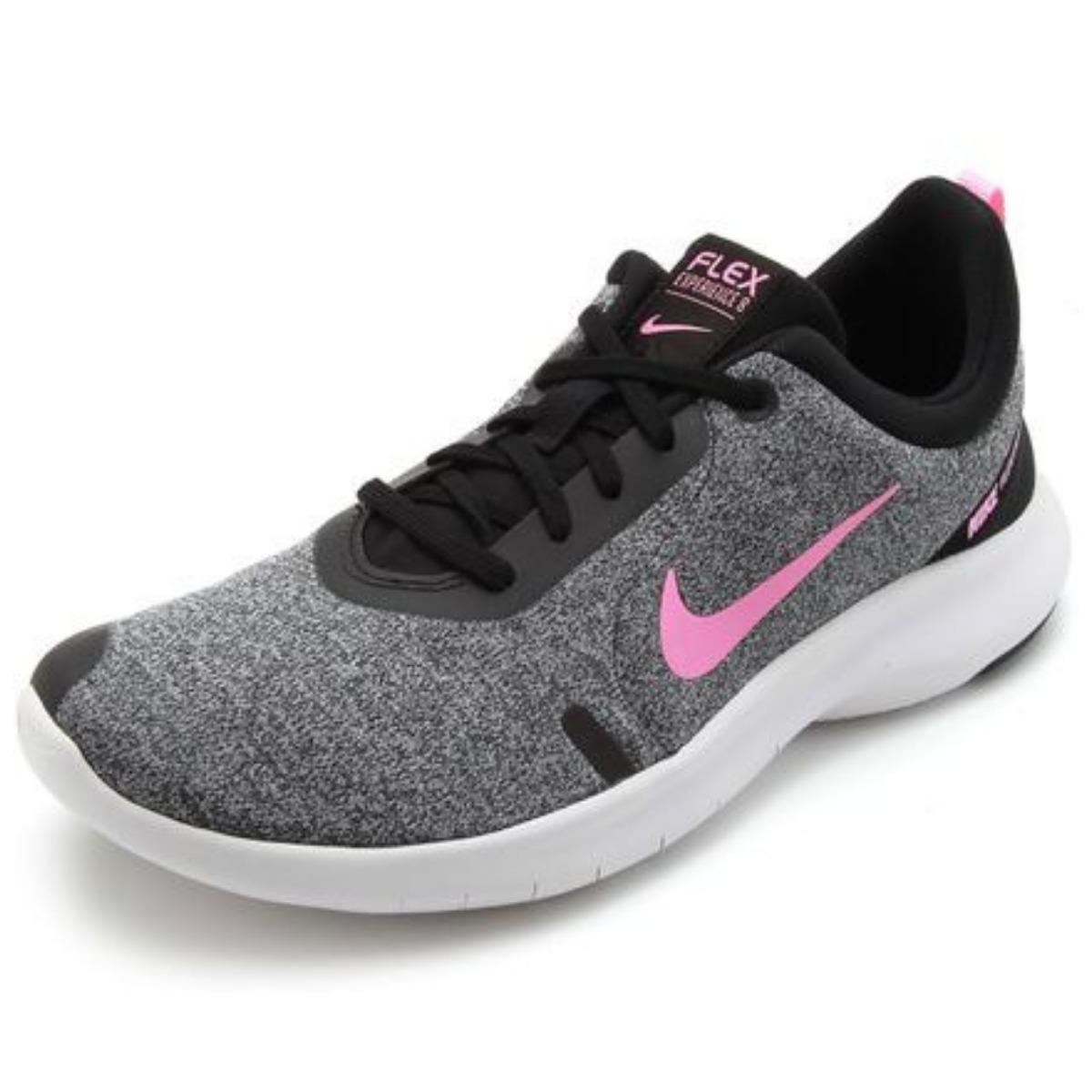 69d997051 Tênis Nike Feminino Flex Experience Rn 8 Cinza E Rosa R 27990. Tênis Nike  Flex Bijoux Feminino Decker Online