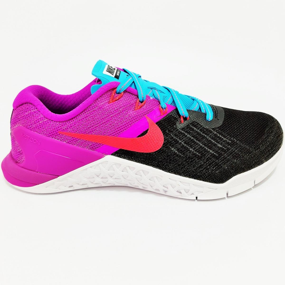 Tênis Nike Feminino Metcon Preto Frete Grátis Com Brinde