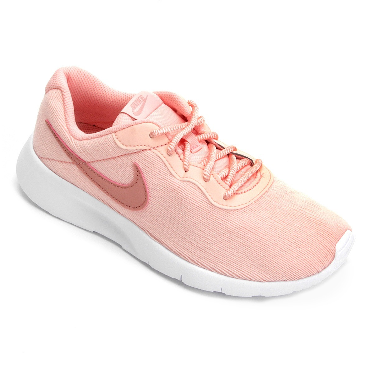 ... 250c5e4e819 tênis nike feminino tanjun rosa - original - frete grátis. Carregando  zoom. bf23fb80189c7