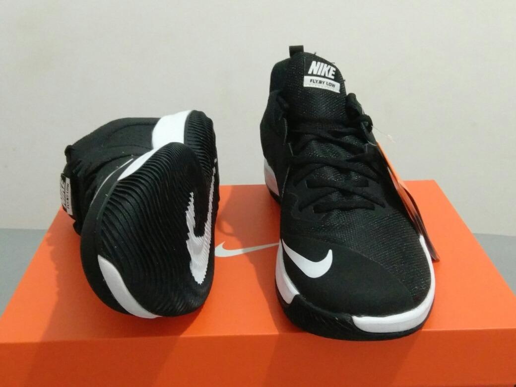 07def607ed6 Tênis Nike Fly By Low Preto Barato Basquete Original! - R  259