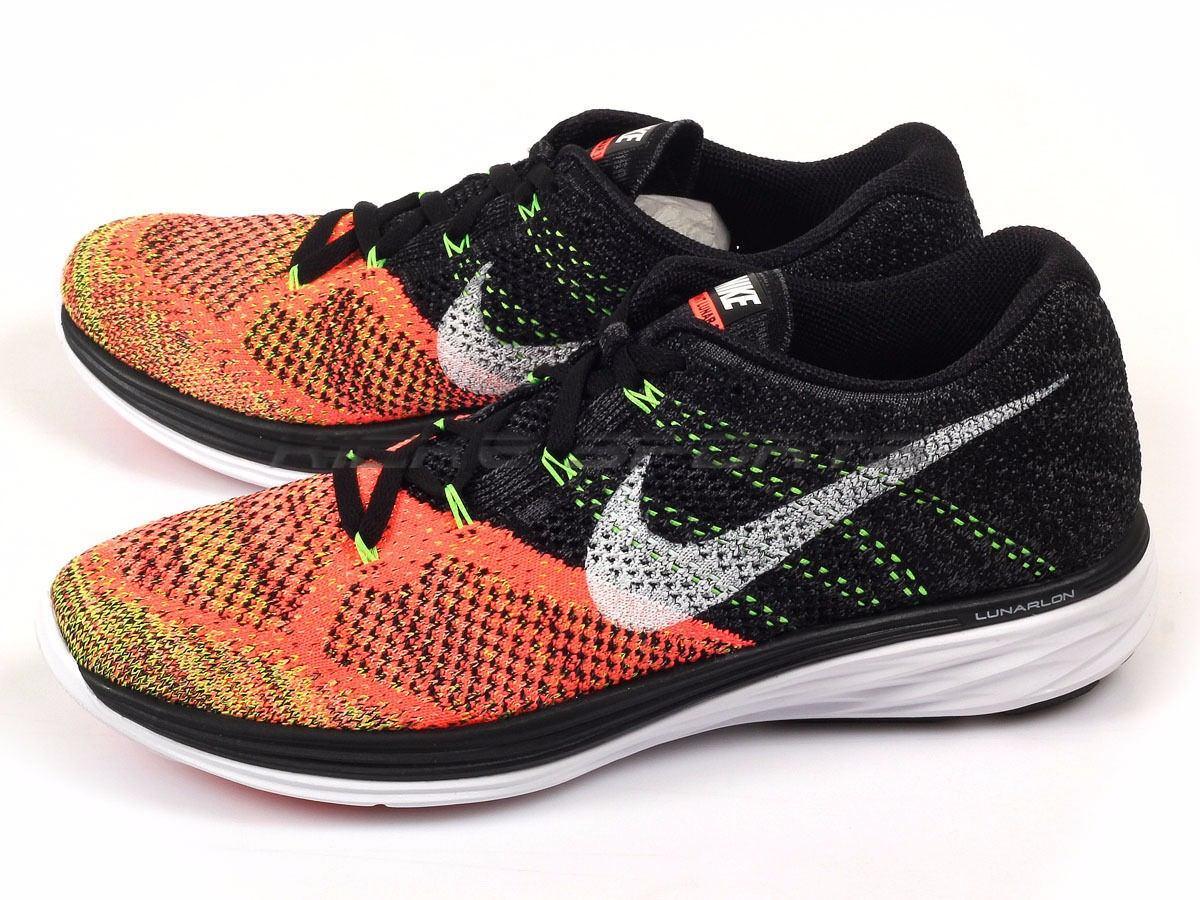 brand new 03fff 9276a Tênis Nike Flyknit Lunar 3 Running High Performance V2mshop