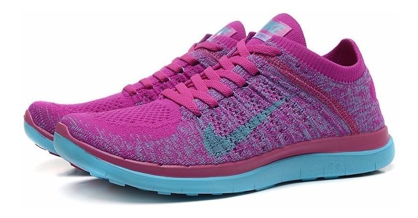 Tênis Nike Free 4.0 Flyknit Feminino Running Corrida V2mshop