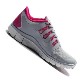 b48191231a4 Tenis Nike Free 5.0 Rosa no Mercado Livre Brasil