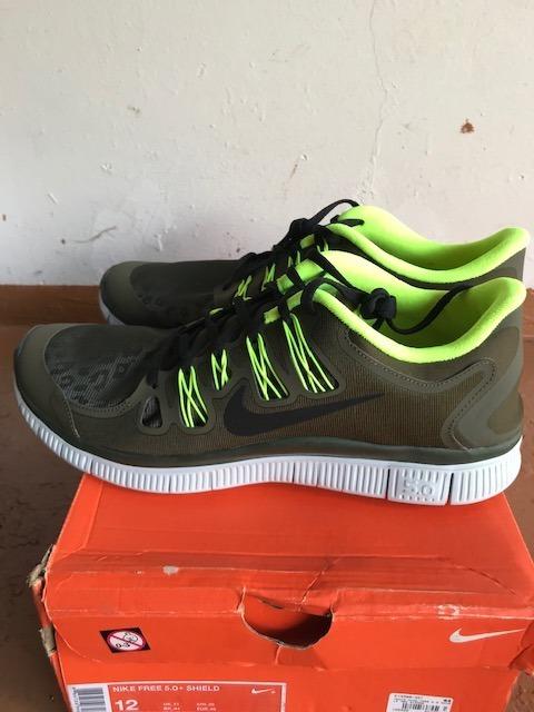 Tênis Nike Free 5.0 + Shield Tamanho 44