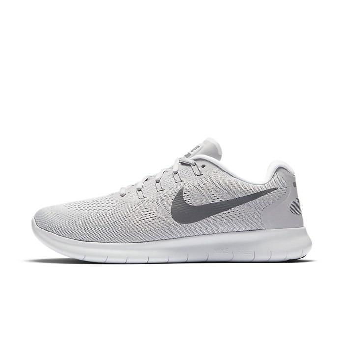 Tênis Nike Free Rn 2017 Cinza Claro Tamanho 45 - R  350 3b132dc1138d4