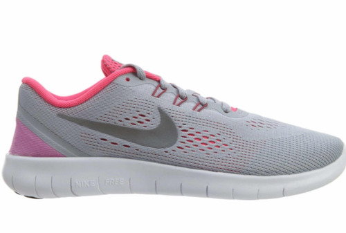 Tênis Nike Free Rn Cinza E Rosa - R  320,00 em Mercado Livre 98b72ed857