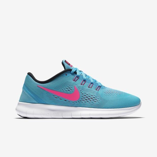 5dd6fcdbd0f Tênis Nike Free Rn De Corrida Azul Feminino Original  - R  249