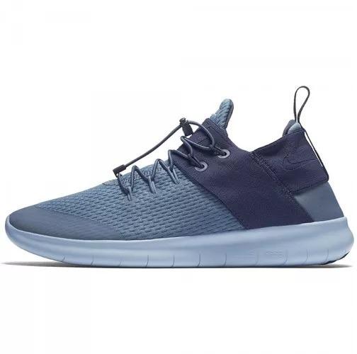Tênis Nike Free Run Commuter 2017 Azul Corrida Original! - R  325 3de0c1c99ffda