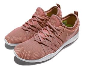 Tênis Nike Free Tr 7 Feminino Rosa Treino Academia