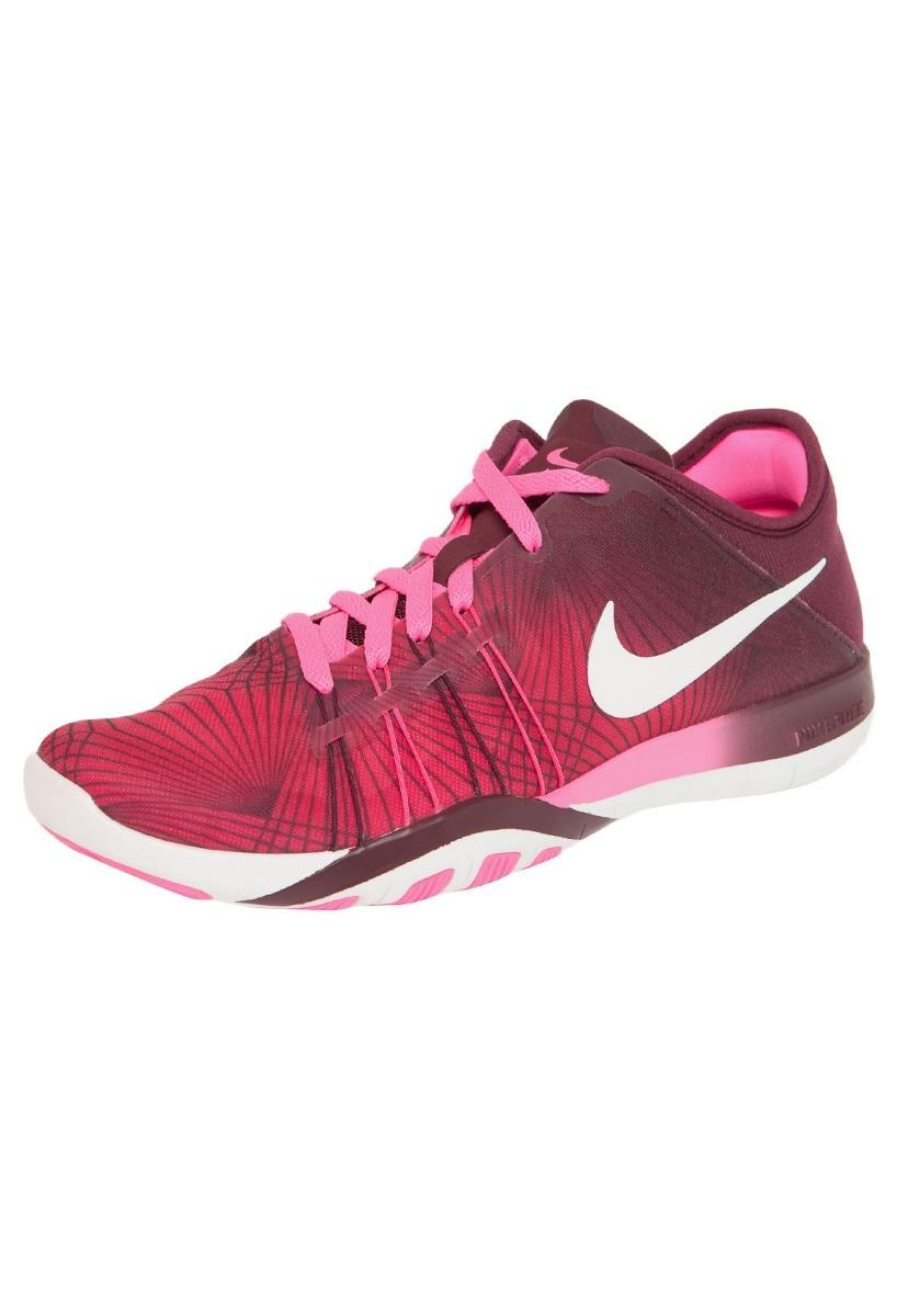 4290d44b3db tênis nike free tr6 print rosa corrida feminino - original! Carregando zoom.