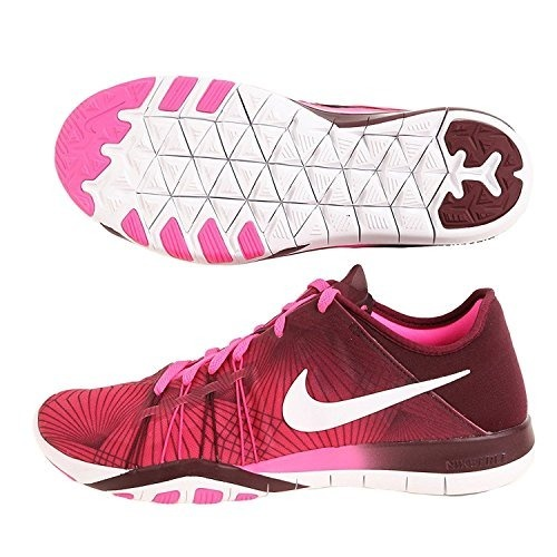 Tênis Nike Free Tr6 Print Rosa Corrida Feminino - Original! - R  359 ... f90f30ec58